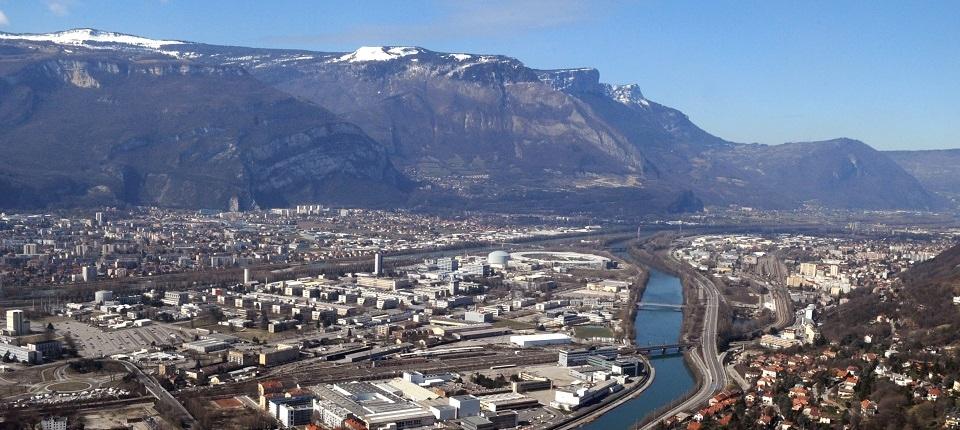 Vue générale de Grenoble
