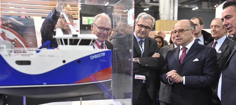 Le Premier ministre au Salon Euromaritime