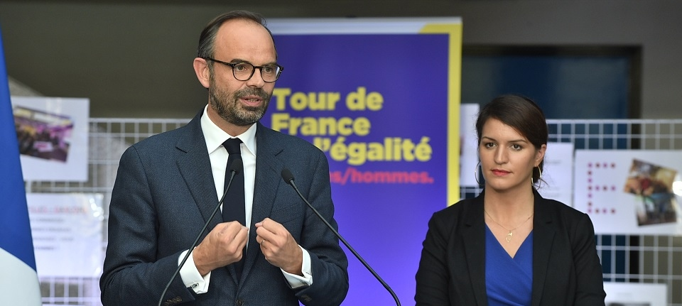 Edouard Philippe et Marlène Schiappa