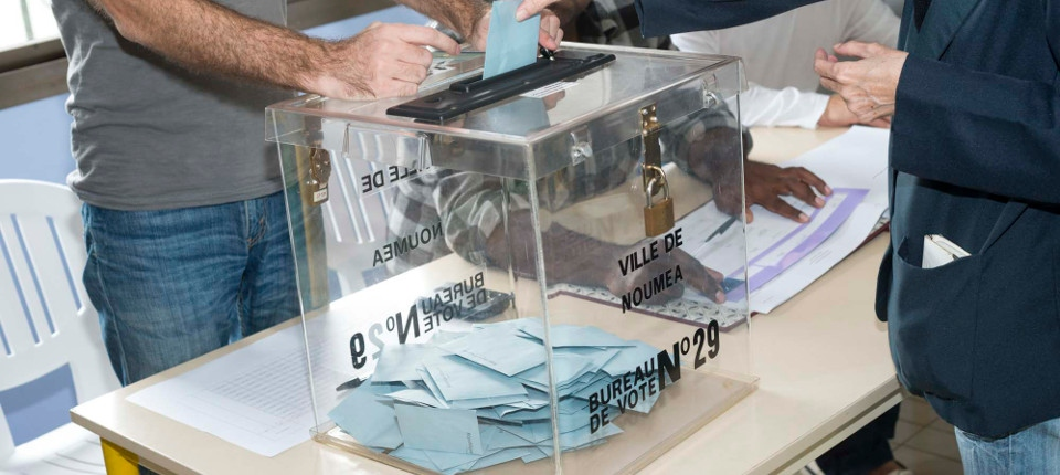 Bureau vote Nouméa