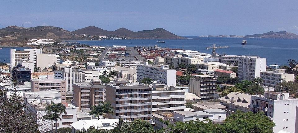 Le port de Nouméa en 1998
