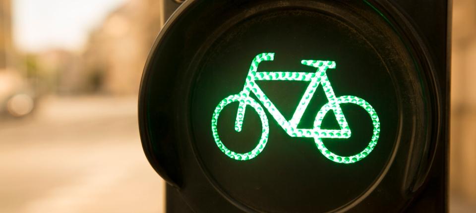 Feu vert pour les vélos