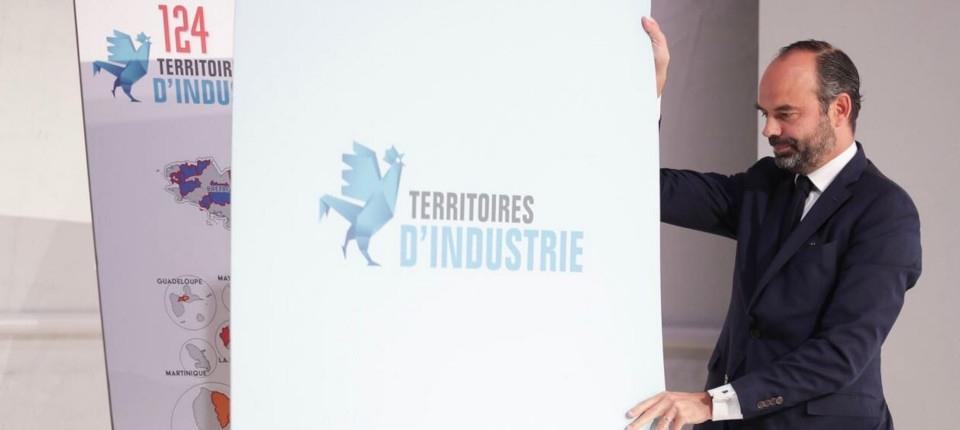Le Premier ministre dévoile la carte des 124 territoires industrie