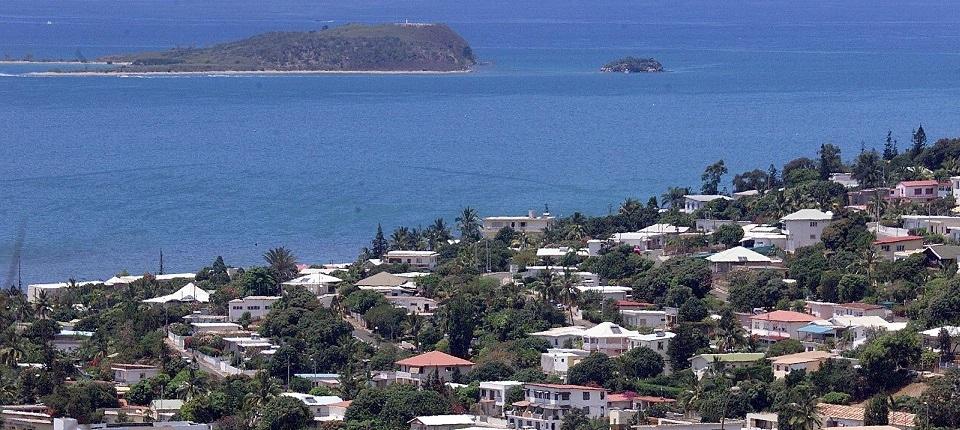 Vue de Nouméa