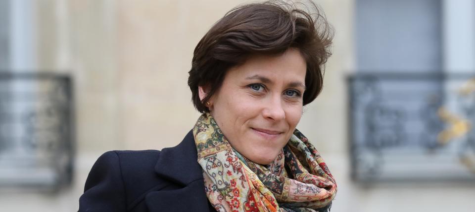 Photo de Christelle Dubos, secrétaire d'État à la Transition écologique et solidaire