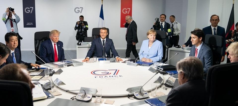 Réunion du G7 à Biarritz