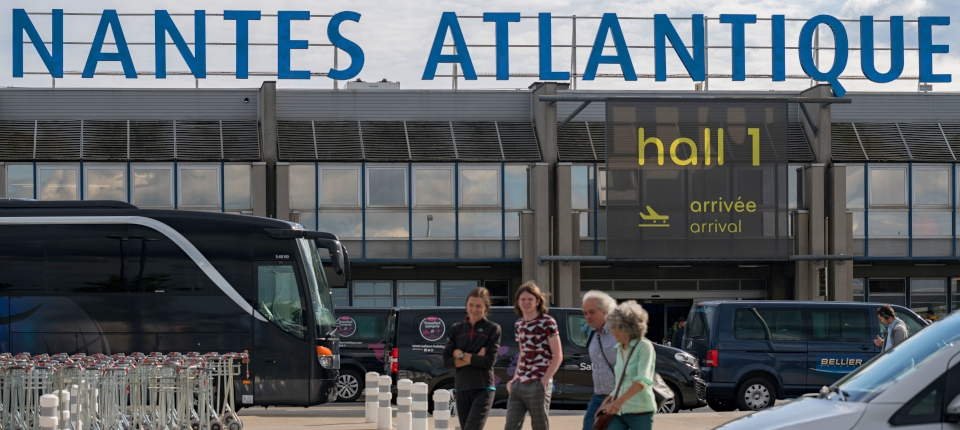 Photo de l'aérogare de l'aéroport Nantes-Atlantique