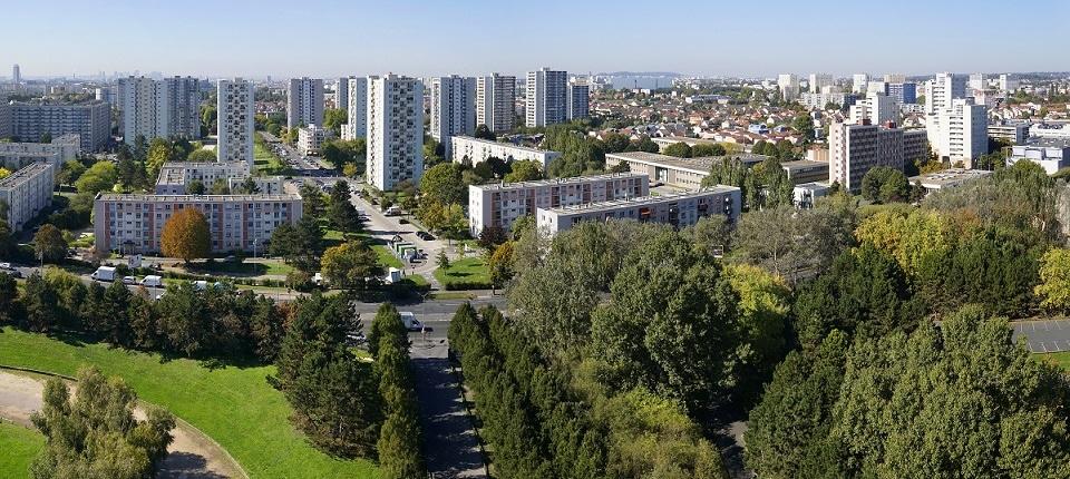 Vue de Saint-Denis