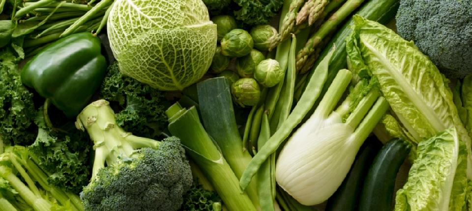 Légumes verts d'hiver