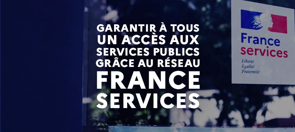 80% des structures France Services dans les territoires ruraux