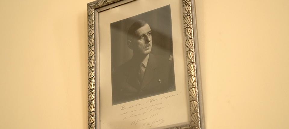 Portrait de Charles de Gaulle