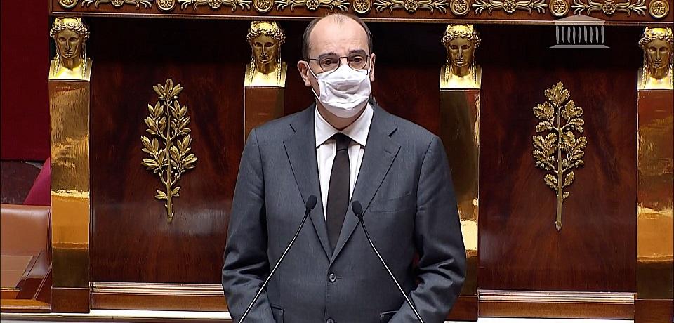 Le Premier ministre à la tribune de l'Assemblée nationale
