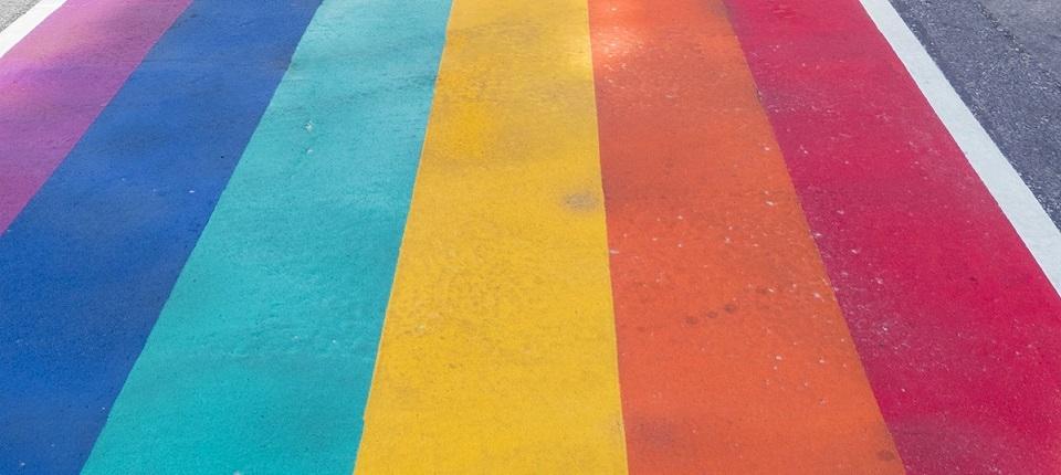 Visuel du drapeau LGBT