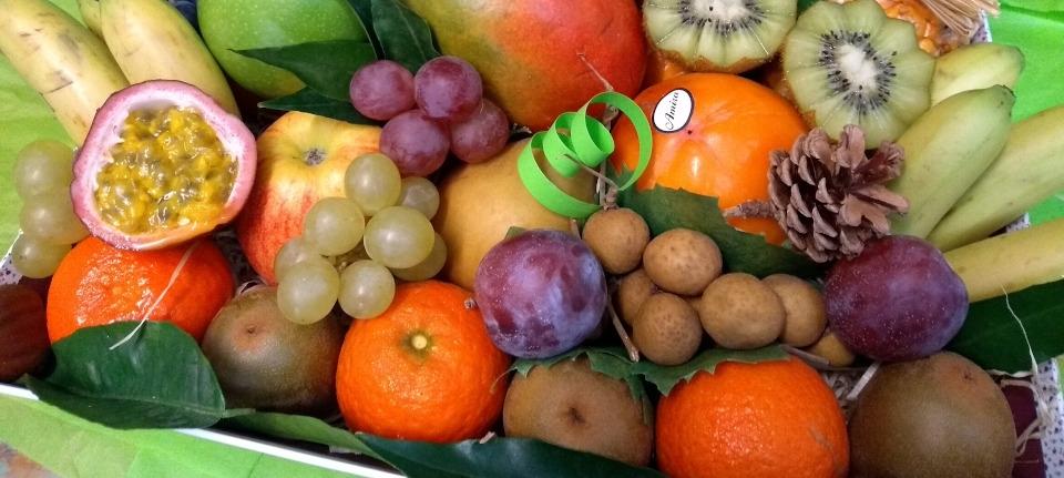 Fruits issus de l'entreprise Le comptoir de Carloe