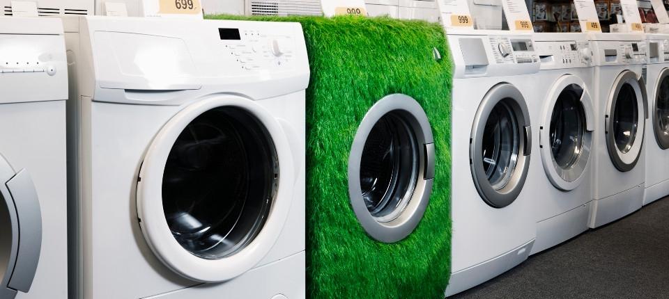 Des hublots de machines à laver