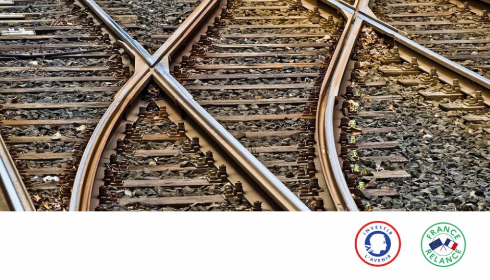 Photo illustrant des rails de chemin de fer