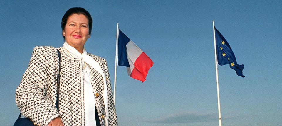 Portrait de Simone Veil