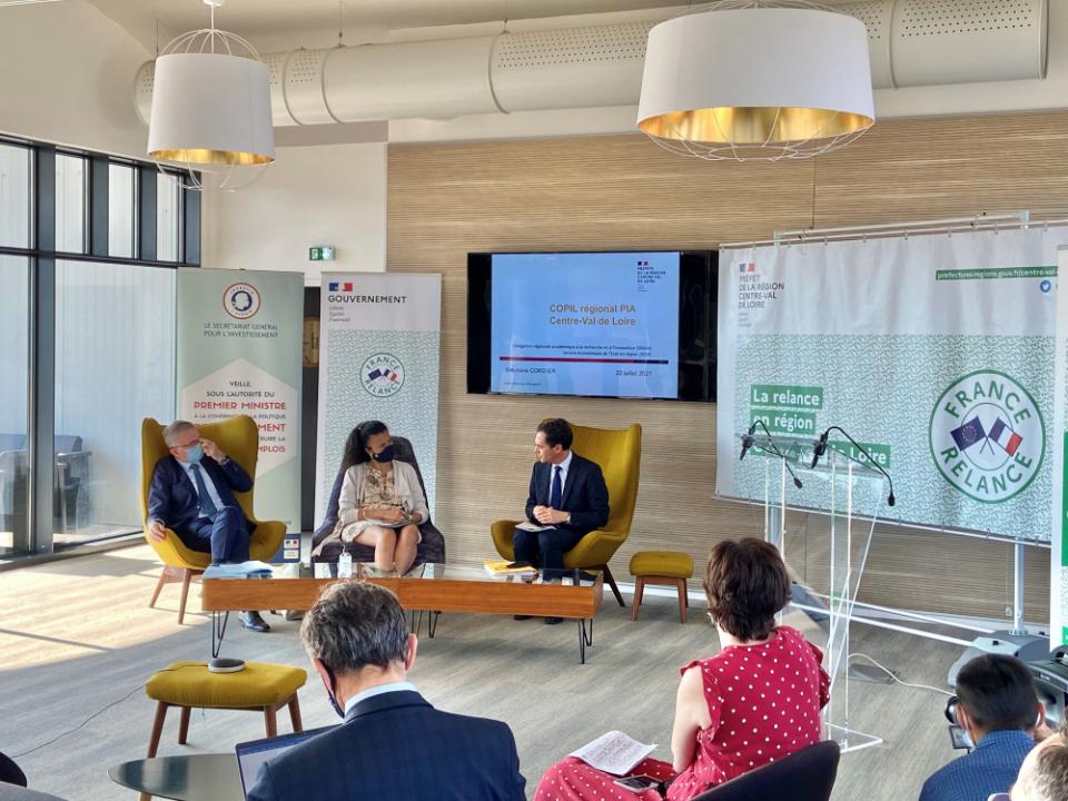 Déplacement   La vitalité des investissements d'avenir en Centre-Val de Loire