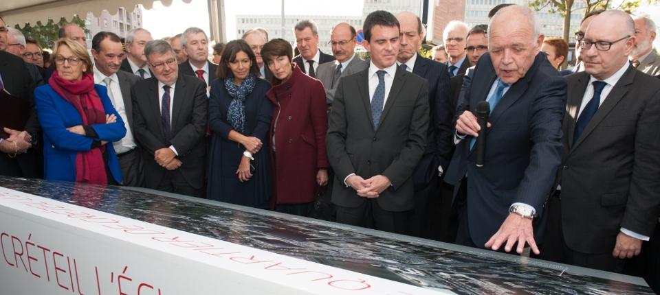 PM at Créteil meeting