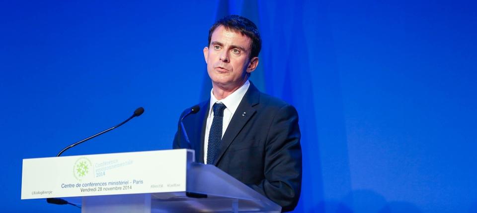 French PM Maneul Valls