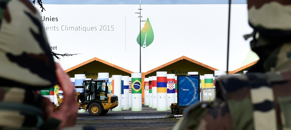 COP21 site at Le Bourget