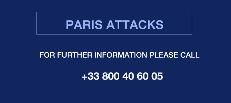 Paris attacks: useful number