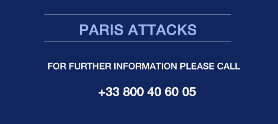 Paris attacks: useful number