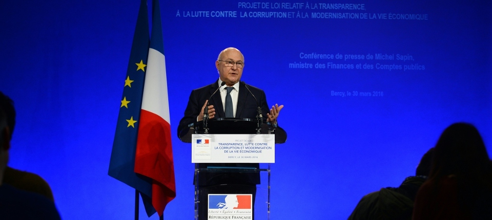 Minister Michel Sapin
