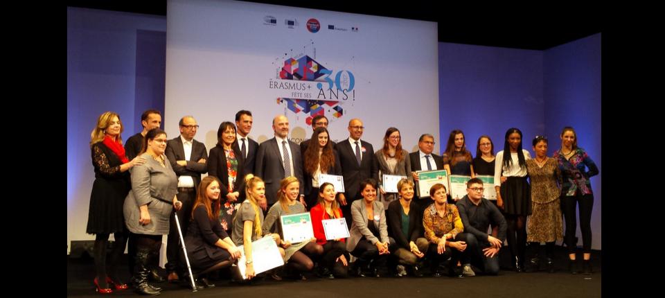 "Laureates of the ""Erasmus+ et moi"" competition"