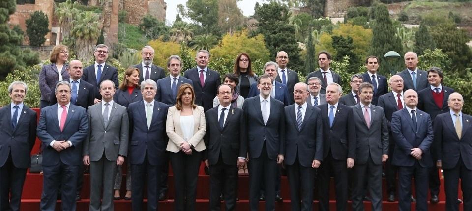 Family photo - 25th Franco-Spanish Summit