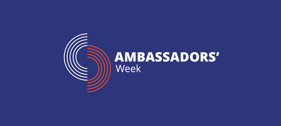 Ambassadors' Week logo