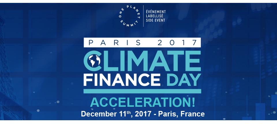 Climate Finance Day logo