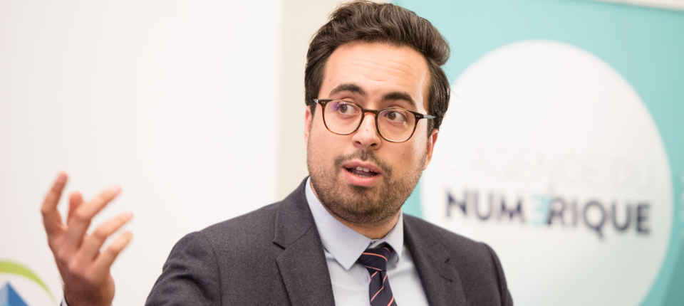 Minister of State for the Digital Sector, Mounir Mahjoubi