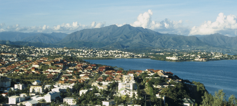 View of Nouméa (New Caledonia)