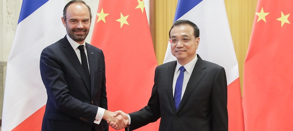 French and Chinese Prime Ministers