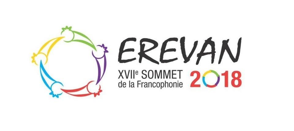 La Francophonie - Logo of Erevan event
