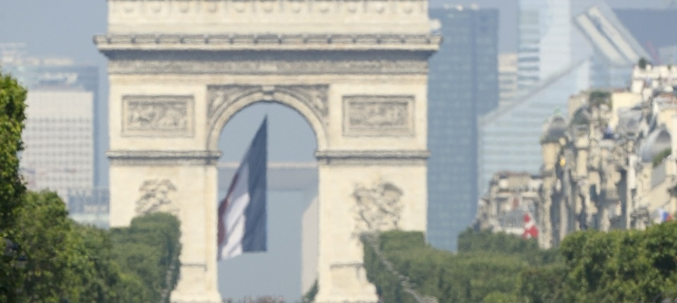 Bastille Day on the Champs-Elysees