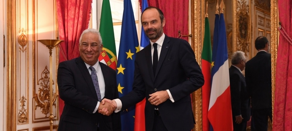 French PM and his Portuguese counterpart