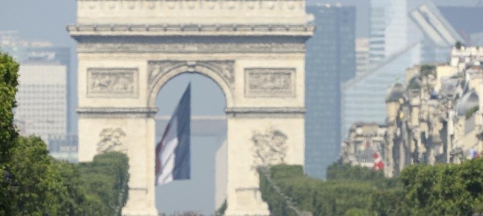 Bastille Day - Arc de Triomphe (Paris)