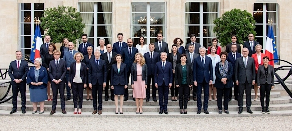 France's Government members