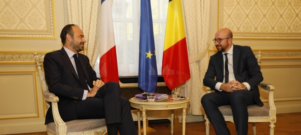 French and Belgian Prime Ministers