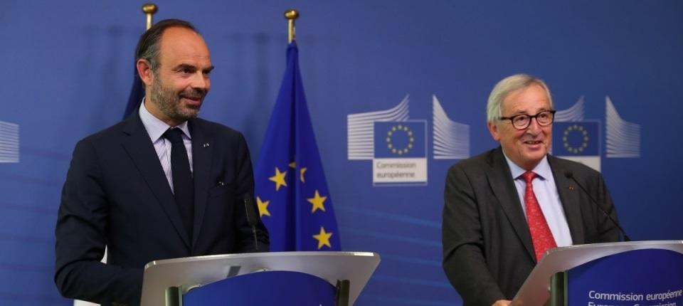 Edoaurd Philippe and Jean-Claude Juncker