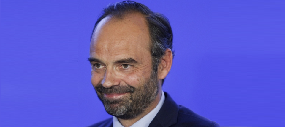 Portrait of Edouard Philippe, France's Prime Minister
