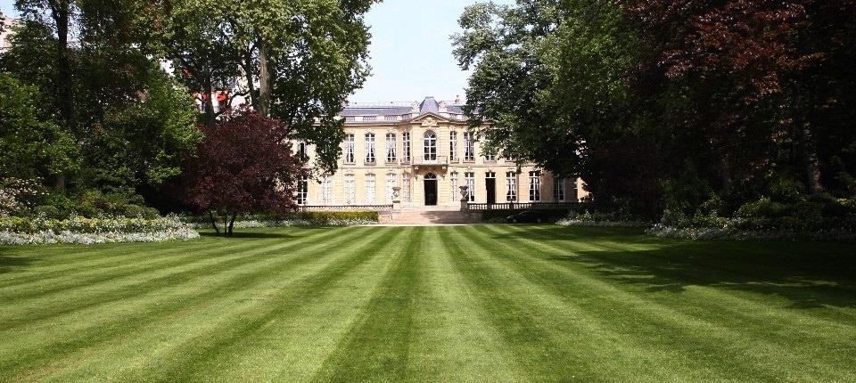 Matignon garden