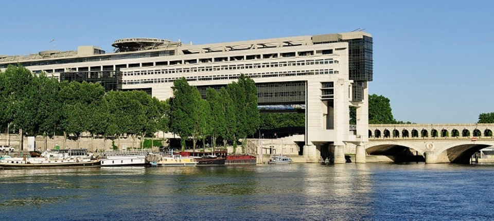 France's ministry of finance building