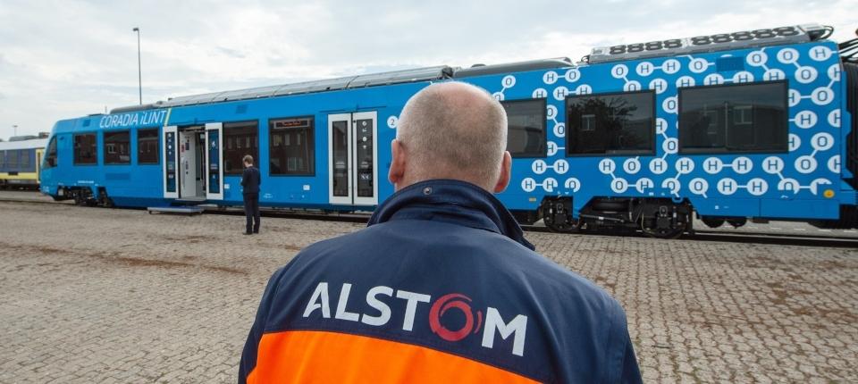 An Alstom's train