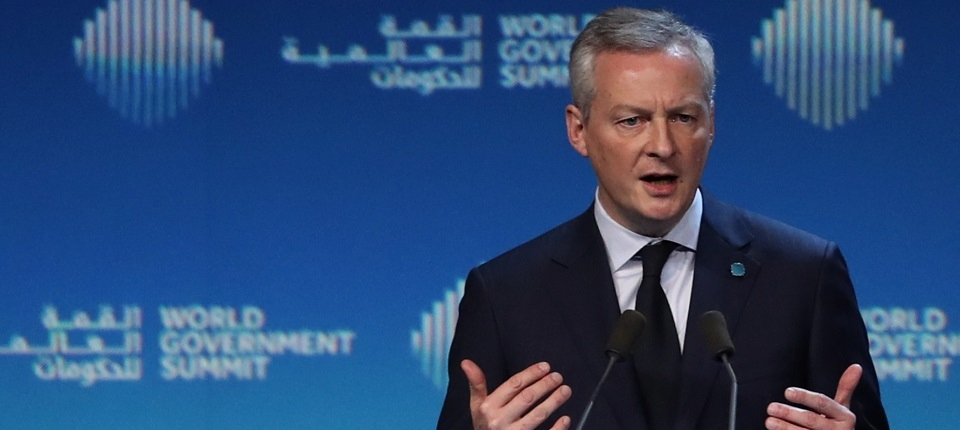 France's Minister Le Maire at 2019 World Government Summit