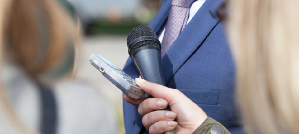 Microphone for an interview