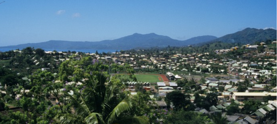 A view of Mayotte