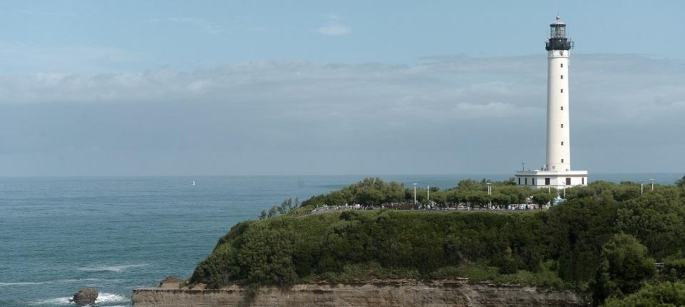 Biarritz's lighthouse